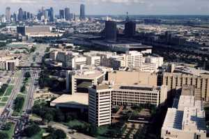Avian Averting System client installation picture University of Texas Southwestern Medical Center in Dallas Texas