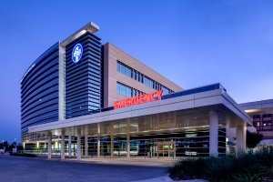 Avian Averting System client installation picture Sammons Trauma Tower Methodist Health Care in Dallas Texas